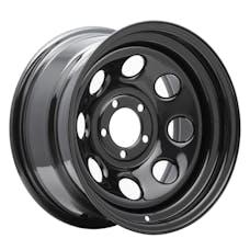 Pro Comp Steel Wheels 97-7973 Rock Crawler Series 97 Black Monster Mod Wheel