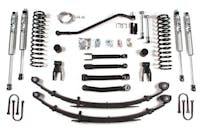 BDS Suspension 435FS 4.5in Front/4in Rear Spring w/Dana w/Fox Shox - Jeep Cherokee XJ