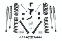 BDS Suspension 448FS 4in Front/3.5in Rear Spring w/Fox Shox - Jeep Grand Cherokee