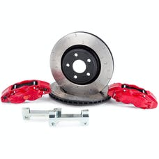 "Alcon BKF5459AX02 - BRAKE KIT, JEEP JK FRONT, DANA 44, 5X5"", 4 PISTON CALIPERS, 350X32MM ROTORS"