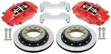 "Alcon BKR5059D17 - BRAKE KIT, JEEP JK REAR, CURRIE 60/70, 6x5.5"", 4 PISTON CALIPERS, 335X22MM ROTORS"