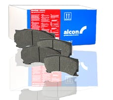 Alcon PNS4450X703.4 - JEEP JK WRANGLER REAR BRAKE PADS
