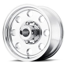 "American Racing AR1726865 - BAJA - Size 16""x8"", Bolt Pattern 5x4.5"", Offset (0mm), Backspacing 4.5"" - Polished"