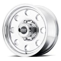 """American Racing AR1726885 - BAJA - Size 16""""x8"""", Offset (0mm), Backspacing 4.5"""" - Polished"""