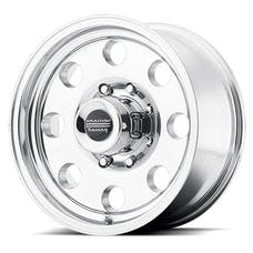 "American Racing AR1727885 - BAJA - Size 17""x8"", Bolt Pattern 5x5.5, Offset (-0mm), Backspacing 4.5"" - Polished"