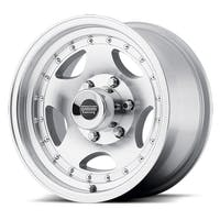 "American Racing AR235165 - AR-23 - Size 15""x10"", Bolt Pattern 5x4.5"", Offset (-44mm), Backspacing 3.75"" - Machined"