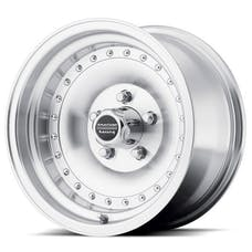 "American Racing AR614765 - Outlaw I - Size 14""x7"", Bolt Pattern 5x4.5"", Offset (0mm), Backspacing 4"" - Machined"