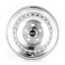 "American Racing AR615165 - Outlaw I - Size 15""x10"", Bolt Pattern 5x4.5, Offset (-38mm), Backspacing 4"" -  Machined"