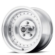 "American Racing AR615765 - Outlaw I - Size 15""x7"", Bolt Pattern 5x4.5"", Offset (-6mm), Backspacing 3.75"" - Machined"