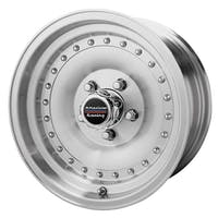 "American Racing AR615773 - Outlaw I - Size 15""x7"", Bolt Pattern 5x5"", Offset (-6mm), Backspacing 3.75"" - Machined"