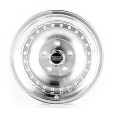 "American Racing AR615865 - Outlaw I - Size 15""x8"", Bolt Pattern 5x4.5"", Offset (-19mm), Backspacing 3.75"" - Machined"
