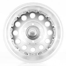 "American Racing AR625765 - Outlaw II - Size 15""x7"", Bolt Pattern 5x4.5"", Offset (-6mm), Backspacing 3.75"" - Machined"