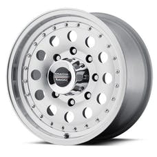 "American Racing AR625773 - Outlaw II - Size 15""x7"", Bolt Pattern 5x5, Offset (-6mm), Backspacing 3.75"" - Machined"