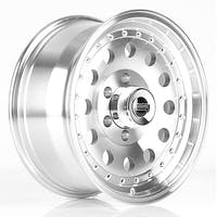 """American Racing AR626885 - Outlaw II - Size 16""""x8"""", Bolt Pattern 5x5.5"""", Offset (0mm), Backspacing 4.5"""" - Machined"""