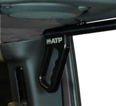 American Trail Products 36070015K - Jeep JK Grab Handles 07-18 Wrangler JK 2/4 Door Rear Aluminum Black American Trail Products