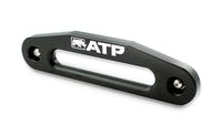 American Trail Products 36070002K - Hawse Fairlead Double Radius Aluminum Black American Trail Products