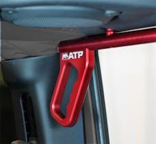 American Trail Products 36070015R - Jeep JK Grab Handles 07-18 Wrangler JK 2/4 Door Rear Aluminum Red American Trail Products