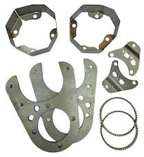 Artec Industries BB1420 - JK 1 Ton Rear 14 Bolt Disc Brake Conversion Kit 52 Tooth Artec Industries