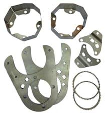 Artec Industries BB1421 - JK 1 Ton Rear 14 Bolt Disc Brake Conversion Kit 60 Tooth Artec Industries