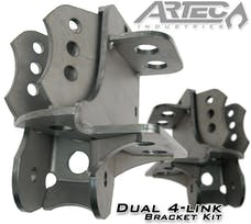 Artec Industries BR1013 - Dual 4 Link Frame Bracket Pair Artec Industries