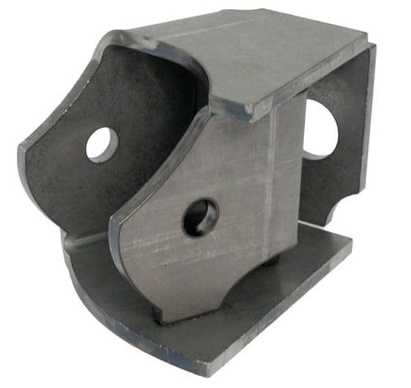 Artec Industries BR1016 - Inner Frame Bracket 10 Degree Front Driver/Rear Passenger Single Artec Industries