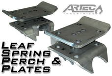 Artec Industries BR1034 - Leaf Spring Perch And Plates Pair Artec Industries