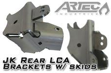 Artec Industries BR1137 - JK Rear LCA Brackets with Skids 3.5 Inch Diameter