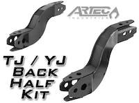 Artec Industries FK0002 - TJ/YJ Back Half Frame Kit Artec Industries