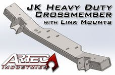 Artec Industries JK2004 - JK HD CrossmemberW/Link Mounts 12-17 Wrangler JK Artec Industries