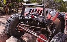 Artec Industries JK2308 - Jeep JK Front Bumper Rock Guard 07-18 Wrangler JK Aluminum Artec Industries