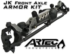 Artec Industries JK4410 - JK Front Axle Armor Kit Dana 44 Rubicon Raised Tracbar Artec Industries