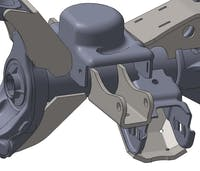 Artec Industries JK4413 - JK Front Axle Shock Mounts Artec Industries