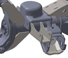 Artec Industries JK4413 - JK Front Axle Shock Mounts Artec Industries