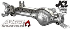 Artec Industries JK6043 - JK 1 Ton Superduty 05 Plus Front Dana 60 Swap Kit W/Adjustable Truss Upper Link Mount Single Artec Industries