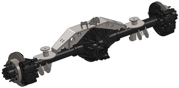Artec Industries TJ1414 - Triangulated TJ 14 Bolt Swap Kit W/Truss 2.63 Inch / OEM Artec Industries