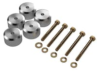 Artec Industries TJ2025 - Jeep TJ Body Mount Spacer 1.25 Inch Kit 97-06 Wrangler TJ For Use With Part Number TJ2010 Artec Industries