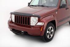 Auto Ventshade  AVS-24001 - Bugflector II Dark Smoke Hood Shield for 2008-2014 Jeep Liberty