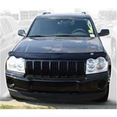 Auto Ventshade AVS-25905 - Bugflector II Dark Smoke Hood Shield for 2005-2010 Jeep Grand Cherokee