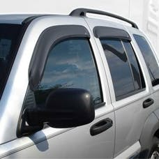 Auto Ventshade AVS-94428 - Original Ventvisor Side Window Deflector Dark Smoke, 4-Piece Set for 2002-2007 Jeep Liberty