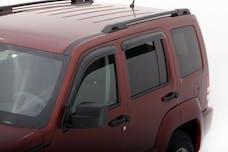 Auto Ventshade AVS-94964 - Original Ventvisor Side Window Deflector Dark Smoke, 4-Piece Set for 2008-2014 Jeep Liberty