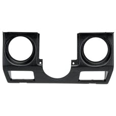 AutoMeter Products 15220 Gauge Mount; Direct Fit; Tach/Speed (3 3/8in. x2); Jeep Wrangler 87-95 YJ