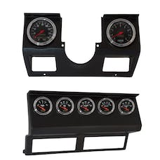 AutoMeter Products 7040 Jeep YJ 7 Gauge Direct-Fit Complete Instrument Dash Kit