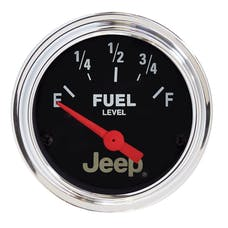 AutoMeter Products 880243 2-1/16 0 E / 90 F Fuel Level Gauge  (like 2514)
