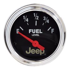 AutoMeter Products 880428 2-1/16 73 E / 8-12 F Fuel Level Gauge  (like 2515)