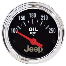 "AutoMeter Products 880429 2-1/16"" Oil Temperature, 100-250F"