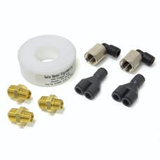 Banks Power 45070 - Injection Nozzle Kit-10 Number 2 15 LB/Hr At 100PSI 4, 30 LB/Hr At 100PSI 7 52 LB/Hr At 100PSI 100 Degree Full Cone 90 Degree Swivel Nozzle Fitting