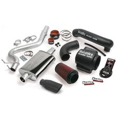 Banks Power 51330-B - Stinger Bundle Power System W/Single Exit Exhaust Black Tip 98-99 Jeep 4.0L Wrangler