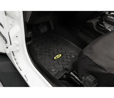Bestop 51514-01 - FLOOR LINERS FOR FRONT SEATS FOR 2018-CURRENT WRANGLER JL 2DR & UNLIMITED, Jeep Gladiator JT 2 and 4 Door