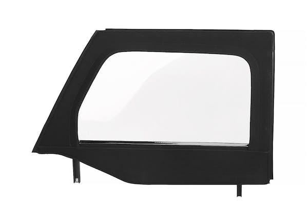 Bestop 51732-17 - Twill Upper Front Doors - BLACK TWILL