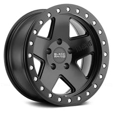 Black Rhino Wheels 1785CRL-25127M71 - Crawler Beadlock Wheel 17x8.5 5x5 Matte Black